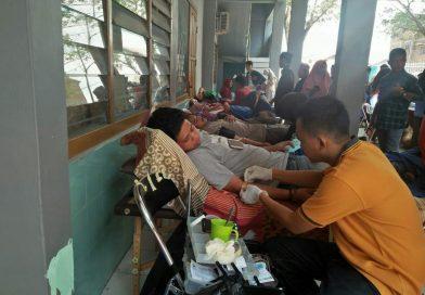 Peringati Harlah, KSR-PMI STAI Al-Gazali Bulukumba Gelar Aksi Donor Darah
